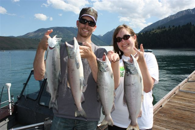 We Did Have A Few Hours Left To Fish As I Paid For The Whole Day Trip With Mark So Tried Our Luck At Some Mackinaw Fishing